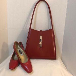 Very Cute Red Shoulder Bag NWOT